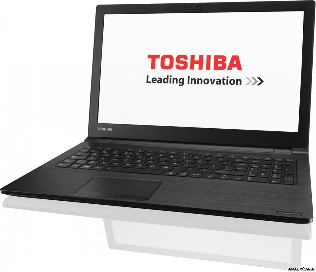Замена матрицы ноутбука Toshiba Алматы
